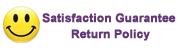 Satisfaction Guarantee Return Policy